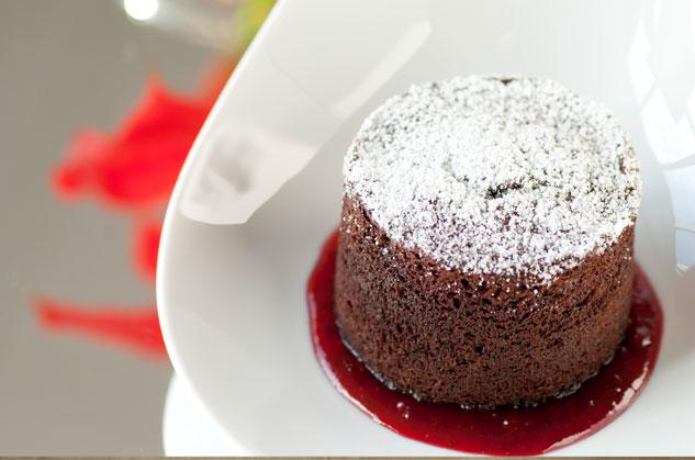 Instant Molten Chocolate Cake