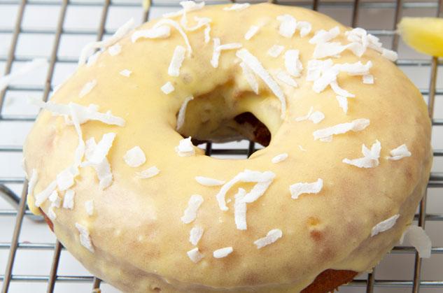 Pina Colada Donuts