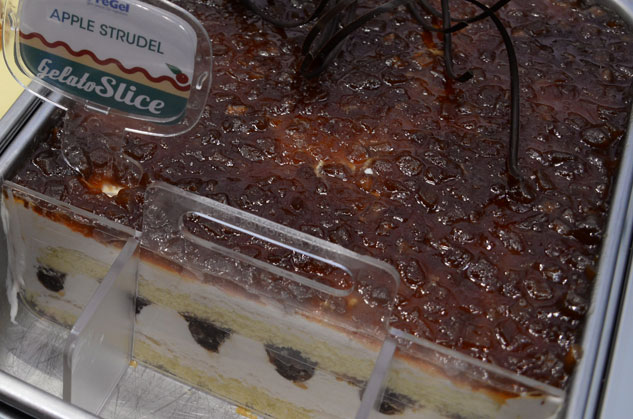 Caramel Apple Gelato Slice