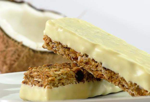 Coconut Granola Bars with Protein