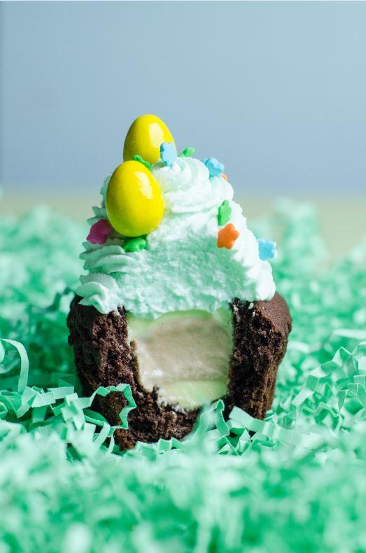 Chocolate Hazelnut Gelato Cupcake