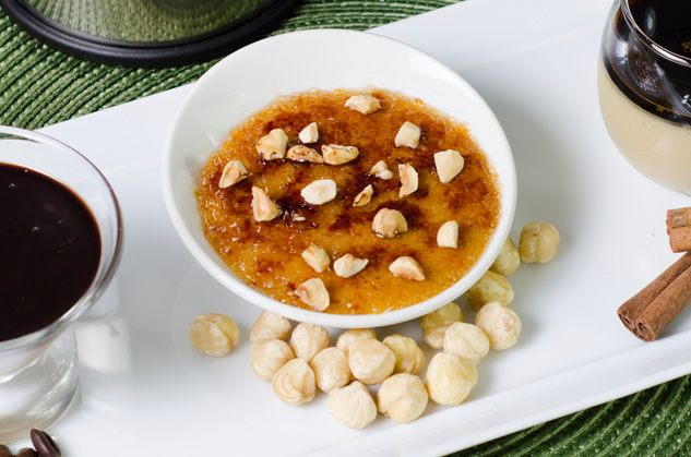 Hazelnut Crème Brûlée