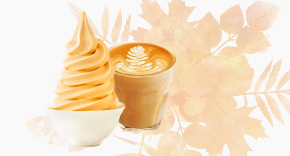 Pumpkin Spice Latte Soft Serve