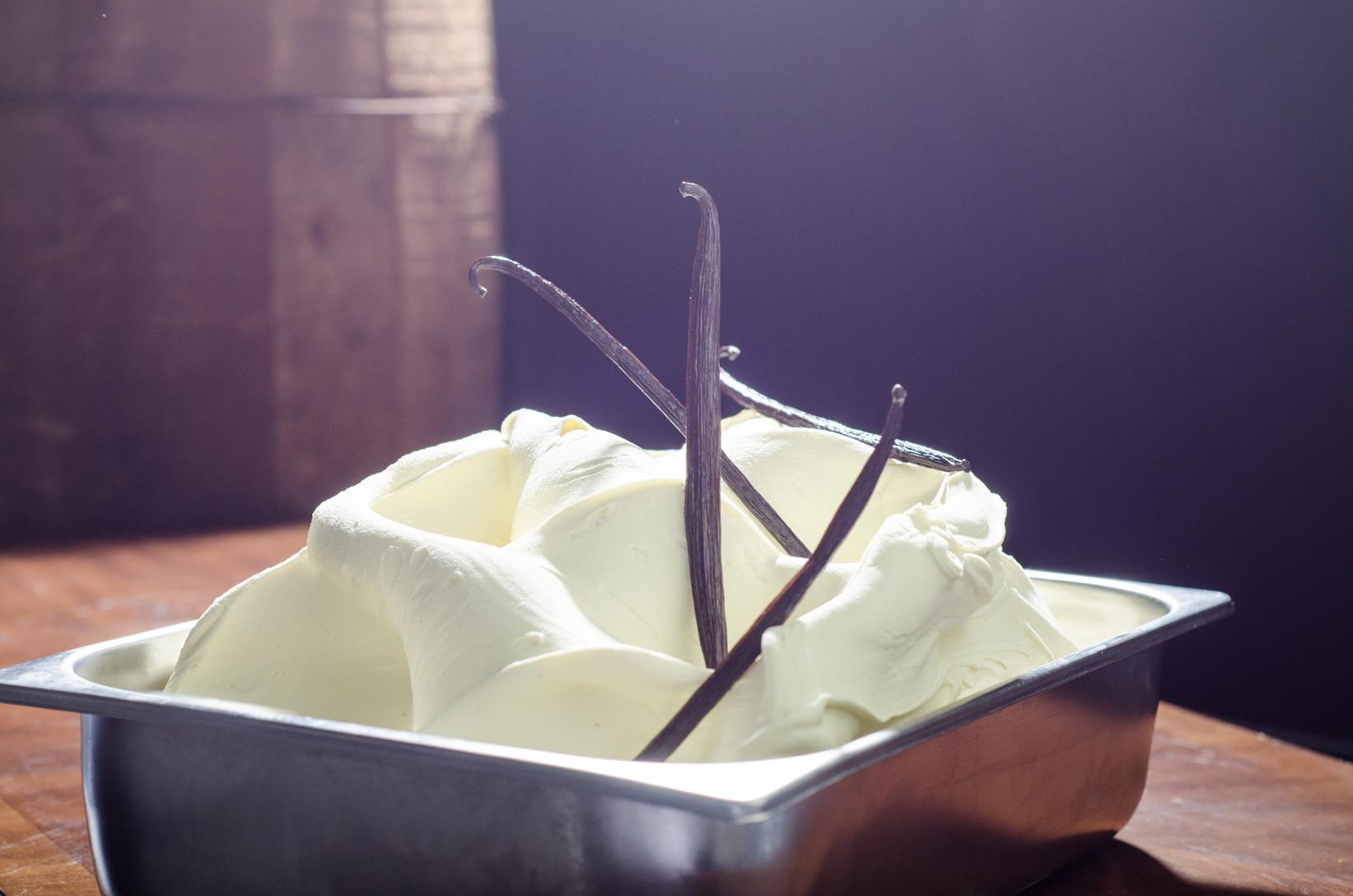 Vanilla Bourbon Gelato