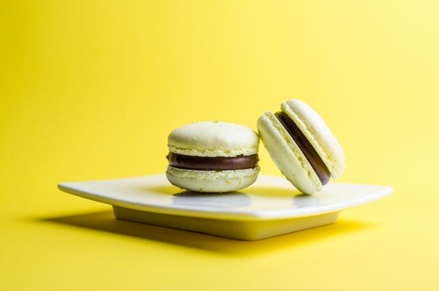 Milk Chocolate Lemon Macaron