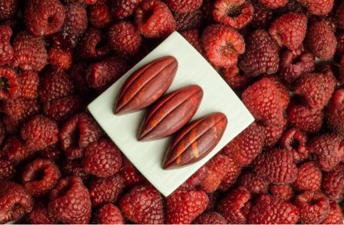 Dark Chocolate Raspberry Bonbons