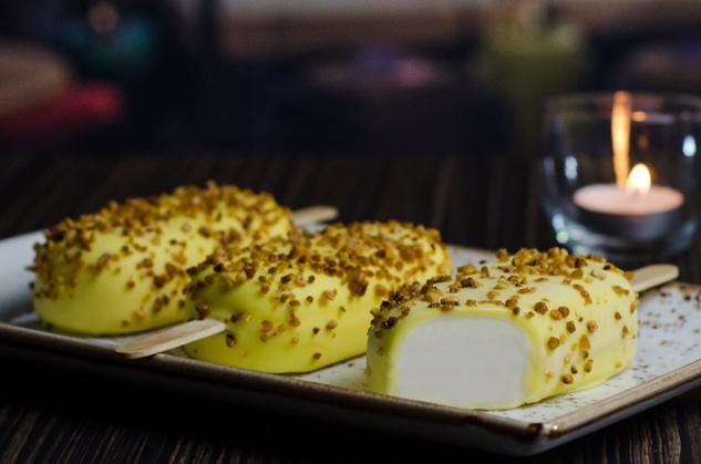Hazelnut Lemon Cookie Frozen Pop