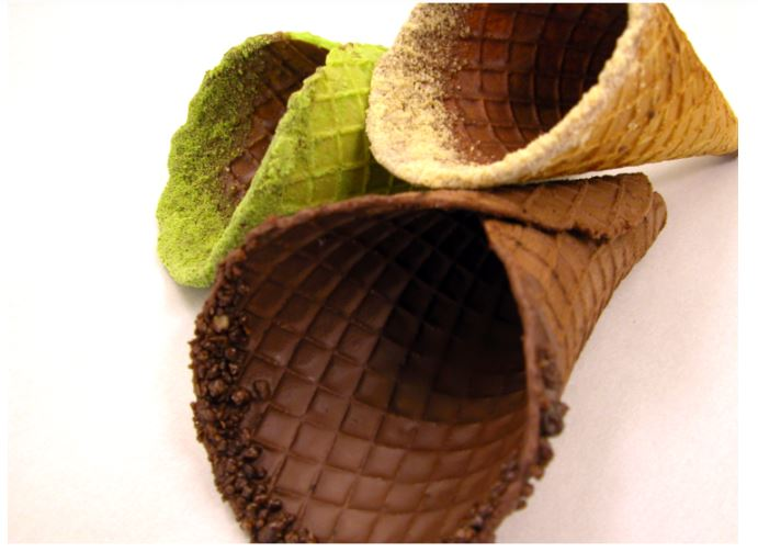 Waffle Cone (Gluten Free – with Oil)