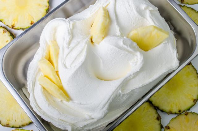 Pineapple Sorbetto