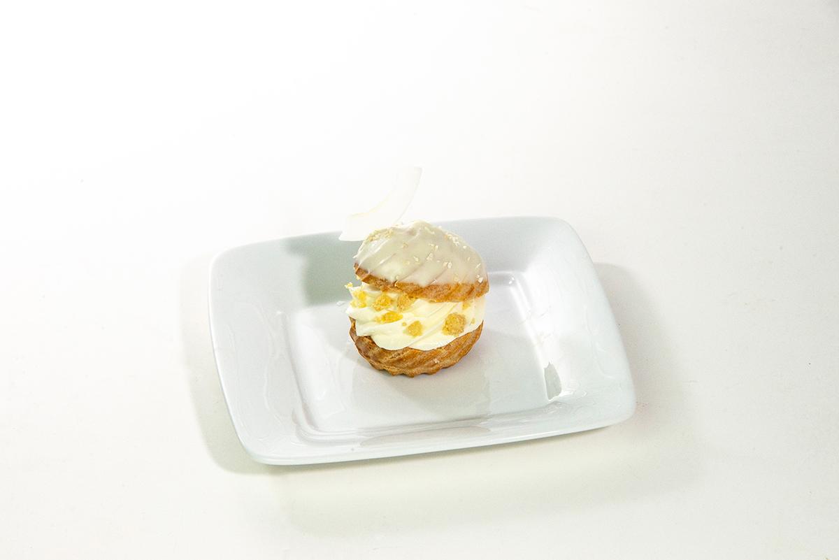 Coconut Cream Pie Cream Puff