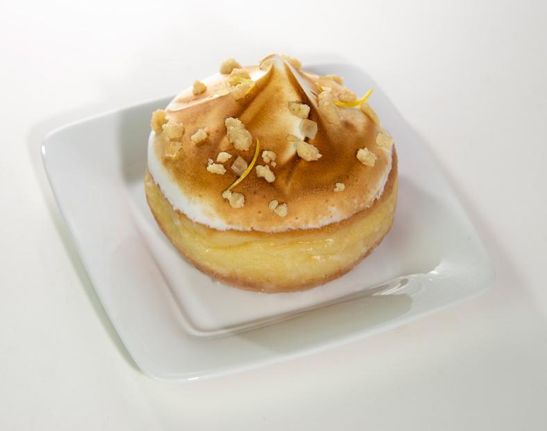 Lemon Meringue Pie Doughnut