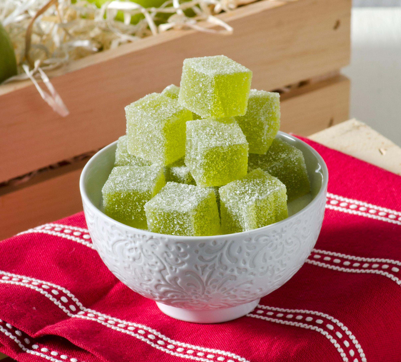 Green Apple Pate De Fruit
