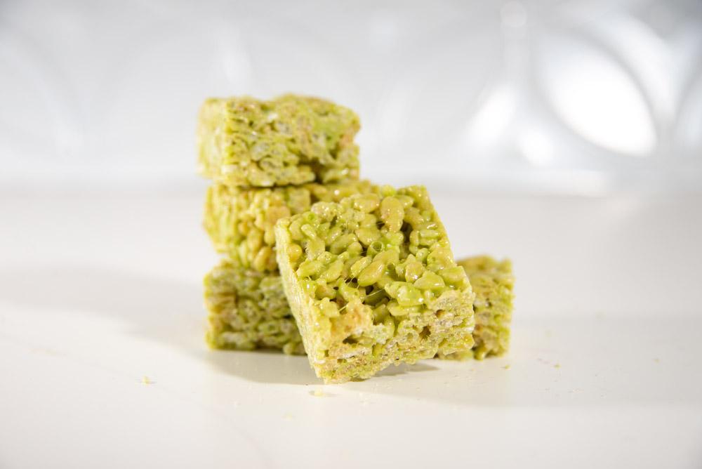 Pistachio Cereal Treats