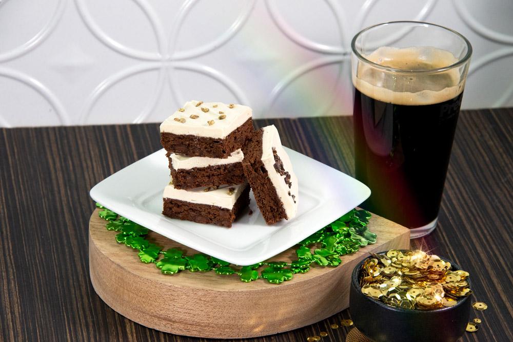 Chocolate Irish Stout Brownie